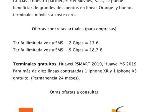 Oferta fantástica de móviles y líneas de teléfono